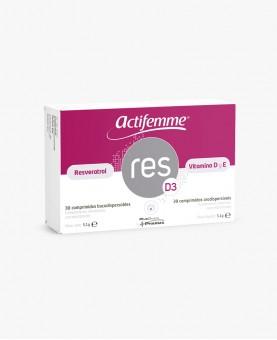 Resveratrol | Actifemme® RESD3 | Vitamina D | Potente Antioxidante